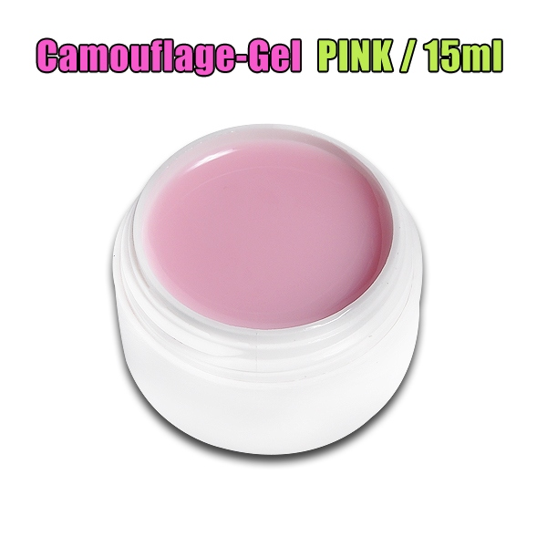Camouflage Gel MAKE COVER UP UV GEL / PINK / 15ml