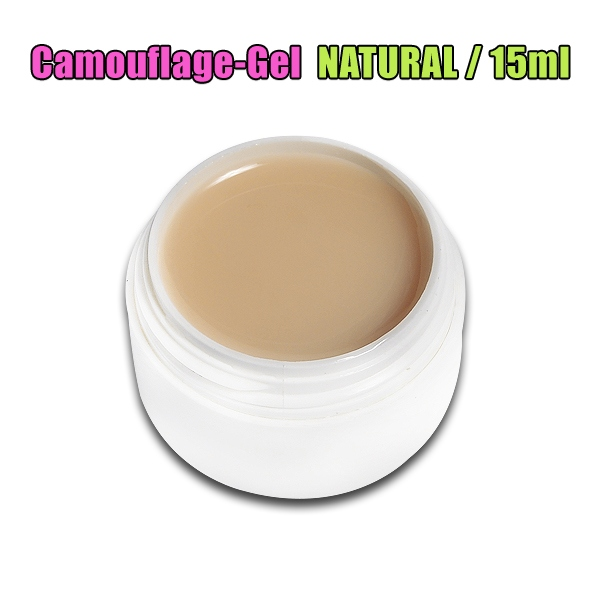 Camouflage Gel MAKE COVER UP UV GEL / NATURAL CREME BEIGE / 15ml