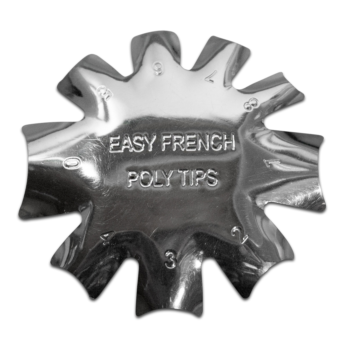 Edge Trimmer Easy French POLY TIPS Schablone Cutter für Acryl Modellage UV Gel