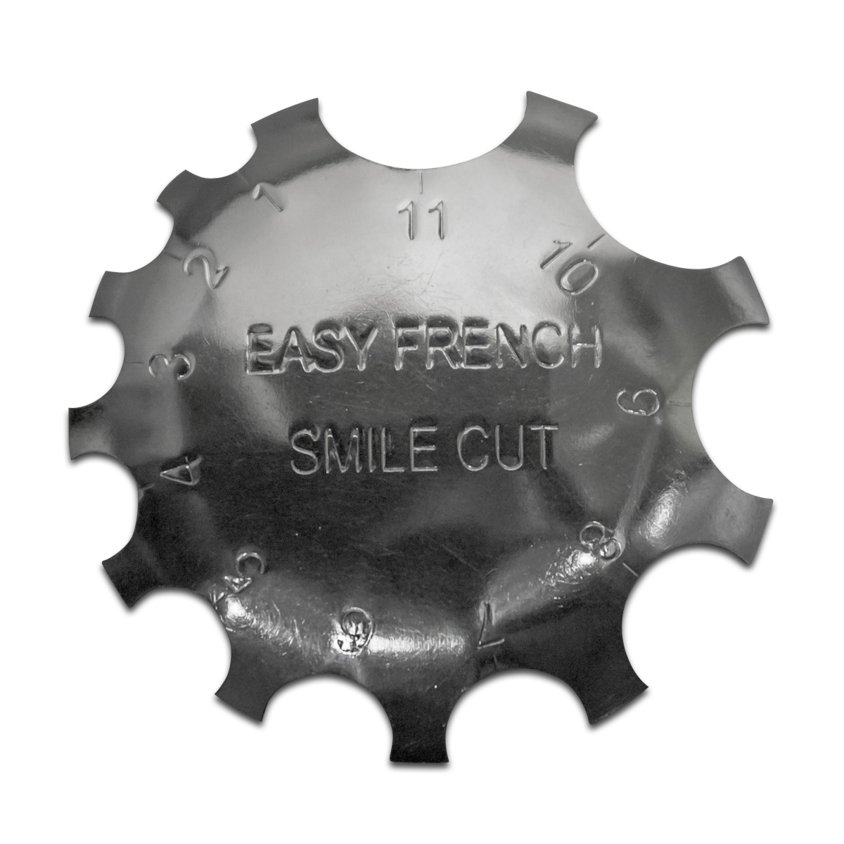 Edge Trimmer Easy French SMILE CUT Schablone Cutter für Acryl Modellage UV Gel