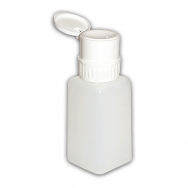 Dispenser 250ml / Pumpflasche (milch / transparent) #13