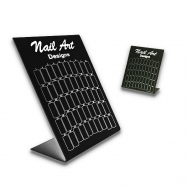 Nail Art Pr�sentationsdisplay f�r Tips / SCHWARZ / 60 'er